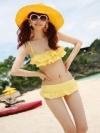 พรีออเดอร์ ชุดว่ายน้ำ สีเหลือง มีไซด์ M/L/XL
