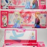 กล่องดินสอ 2 ชั้น ลายการ์ตูน Frozen (Whiteboard)