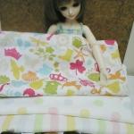 SEP58.Pack5 : ผ้าจัดเซตอเมริกา+ผ้าไทย แต่ละชิ้นขนาด25-27x45-50 cm