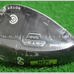 NEW CLEVELAND 588 RTX 2.0 CB BLACK SATIN WEDGE 60* LOB WEDGE LH