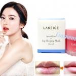 Laneige Lip Sleeping Mask with Lip Brush 20g กลิ่น BERRY ทรีทเมนต์มาสก์สูตรเข้มข้น เพื่อการบำรุงริมฝีปากที่เหนือกว่าลิปบาล์มทั่วไป