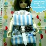 LMB16.Fab4 : กระเป๋าเป้ตุ๊กตา - MSD (1/4 BJD)