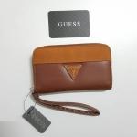Guess leather wallet กระเป๋าสตางค์ รุ่นซิปรอบ