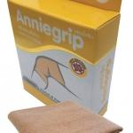 Anniegrip สำหรับสวมเข่า KNEE size S - ผ้าซัพพอร์ทรูปแบบใหม่ เนื้อผ้ายืดได้ 4 ทิศทาง ชุบซิงค์ออกไซร์นาโน ป้องกันแสงยูวี และกลิ่นอับชื้น เสริมสร้างสัดส่วน บรรเทาอาการปวด