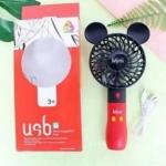 พร้อมส่งค่ะ พัดลม USB พกพา Disney Mickey&Minnie