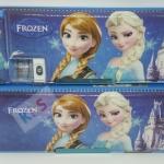 กล่องดินสอ 2 ชั้น ลายการ์ตูน Frozen