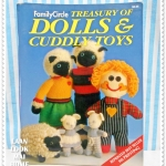 USEDCbook6 : Treasury of Dolls & Cuddly Toys ภาพสีกระดาษหนา 112 หน้า หนังสืองานตุ๊ตาผ้าพร้อมแพท