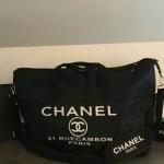 Chanel VIP Extra Large Tote/Duffle Bag กระเป๋าเดินทางแบบถือ ทรงยอดฮิต กันน้ำได้เต็มใบ 100%