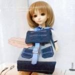 กระเป๋าเป้ MSD (1/4 BJD) ,Animator doll.