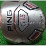 PING G15 DRIVER 9* ALDILA NVS FLEX S