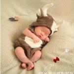 กวางน้อย :ชุดแฟนซีกวางน้อย Reindeer Fancy Costume เหมาะสำหรับ 5-13 กก. หรือ 3 เดือน - 1 ขวบ