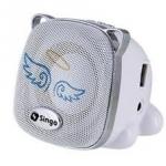 ลำโพงพกพา รูปน้องหมา เสียงแจ๋ว มีช่องเสียบ USB,Flash drive,SD,MMC และ MP3 ยังไม่หมดค่ะ FM ก็ฟังได้ด้วยนะคะ ^^