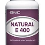 จีเอ็นซี เนเชอรัล อี (วิตามินอี 400 ไอยู) 90 Softgel Capsules Code: 573366 เลขทะเบียน อย. 1C 35/45