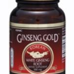 GNC Ginseng Gold™ Korean White Ginseng Root (โสมเกาหลี) 90 Capsules Code: 430666 เลขทะเบียน อย. K 9/52