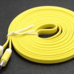 สายชาร์ต 3 เมตร สีเหลือง (iPhone5)