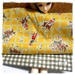 FAB58Pack8 : ผ้าจัดเซตคู่ ผ้าอเมริกา +ผ้าหาได้ในตลาดไทย ขนาดผ้าแต่ละชิ้น 25-27 X 45-50cm