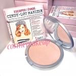 The Balm Cindy-Lou Manizer 8.5g แป้งไฮไลท์โทนสีชมพูอ่อน ประกายชิมเมอร์ ช่วยเพิ่มมิติให้แก่ใบหน้า
