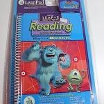 """พร้อมส่งค่ะ LeapPad: Leap 2 Reading - """"Disney / Pixar Monsters Inc."""" Interactive Book and Cartridge"""