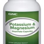 GNC Potassium & Magnesium จีเอ็นซี โปแตสเซียมและแมกนีเซียม
