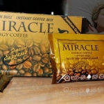 กาแฟกระทิงทอง Miracle Energy Coffee