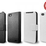 เคสหนังฝาพับ HTC One V ยี่ห้อ IMAK Flip Leather