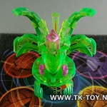 [บาคุกัน] Bakugan Ingram Ventus Translucent Green 710G B3 Bakuneon