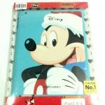 Case for iPad2 ลาย Mickey Mouse สีฟ้า
