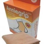 Anniegrip สำหรับสวมข้อเท้า ANKLE size L - ผ้าซัพพอร์ทรูปแบบใหม่ เนื้อผ้ายืดได้ 4 ทิศทาง ชุบซิงค์ออกไซร์นาโน ป้องกันแสงยูวี และกลิ่นอับชื้น เสริมสร้างสัดส่วน บรรเทาอาการปวด สำเนา สำเนา