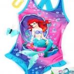 Girl Kids Princess Ariel Mermaid Swimsuit Swimming Costume Tankini Swimwear  4-7 ปี