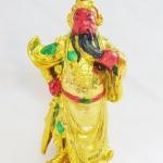 เทพเจ้ากวนอูปางห้ามศึก ยืนถือง้าว ลูบเครา ช่วยให้การงานเจริญก้าวหน้าและช่วยขจัดอุปสรรค เสริมดวงปีมะเมีย ปี2561 พร้อมบทสวดบูชาค่ะ