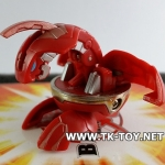 BAKUGAN Red Pyrus Chrom DELTA DRAGONOID II