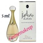 น้ำหอม Christian Dior :J'adore L'Absolu Eau de Parfum Absolue 5 ml. ชนิดแต้ม มีกล่อง