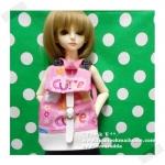 "HMLMshop126 : กระเป๋า สำหรับ ตุ๊กตา 16 "" (MSD,AMT,NANCY doll 16 "")"" Pimwaradda's Craft "" (ผ้านำเข้าค่ะ)"