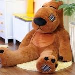ตุ๊กตาหมีแบคค่อม สีน้ำตาลเข้ม ขนาด 1.6 เมตร
