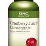 NC Cranberry Juice Concentrate จีเอ็นซี แครนเบอรี่ จูซ 90 Capsules Code: 425167 เลขทะเบียน อย. 10-3-02940-1-0191