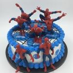 โมเดล Spider man พร้อมฐาน สามารถวางประดับเค้กได้จ้า
