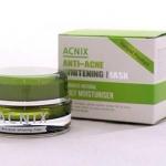 acnix anti-acne whitening mask แอคนิค มาร์คลดสิว