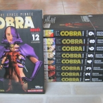 COBRA ชุด 12 เล่มจบ ( ขาดเล่ม 7,10 11 ) Buichi Terasawa เขียน ( เล่ม 12 มีคราบนํ้าตามรูป )