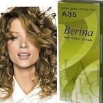 Berina เบอริน่า A35 สีบลอนด์ทองประกายเขียว