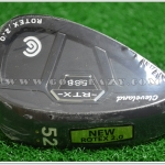 NEW CLEVELAND 588 RTX 2.0 CB BLACK SATIN WEDGE 52* GAP WEDGE LH