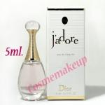 น้ำหอม Christian Dior :J'adore Eau de Toilette 5 ml. ชนิดแต้ม มีกล่อง