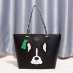 Kate spade shoulder Women's Factory Ma Cherie Antoine French Bulldog tote Bag