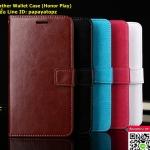 ฝาพับ Leather Wallet Case (Honor Play)
