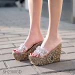 Pre รองเท้าส้นเตารีด แฟชั่น ราคาถูก มีไซด์ 34-39