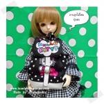"HMLMshop127 : กระเป๋า สำหรับ ตุ๊กตา 16 "" (MSD,AMT,NANCY doll 16 "")"" Pimwaradda's Craft "" (ผ้านำเข้าค่ะ)"