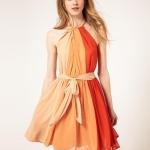 ASOS spell color dress