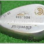 CLEVELAND 588 FORGED WEDGE 58.12 DYNAMIC GOLD FLEX WEDGE