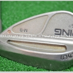PING M/B CHROME ORANGE DOT 56 SAND WEDGE STEEL SHAFT FLEX WEDGE