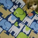 ผ้าร่มซื้อจากญี่ปุ่นขนาด1/8 เมตร (27x50cm)