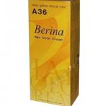 Berina เบอริน่า A36 สีบลอนด์เข้มประกายทอง